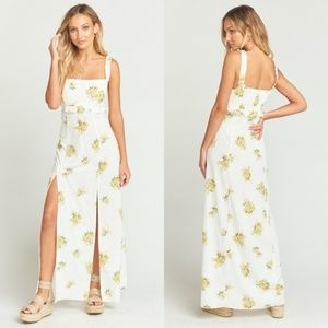 [Show Me Your Mumu] Bristol Floral Slit Maxi Dress